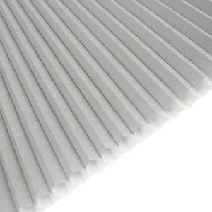 honeycomb lyse grå m.hvid bagside 0230