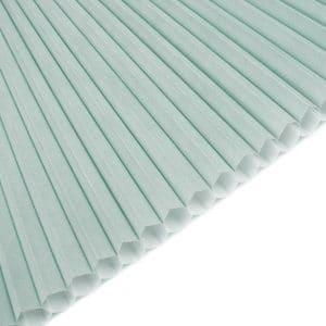 honeycomb lyseblå mintblå m.hvid bagside 1017
